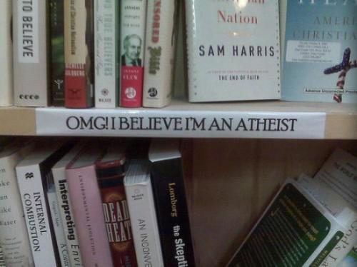 OMG! I believe I'm an atheist.